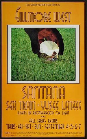 Santana Poster