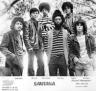 Santana Promo Print