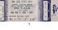 Sarah McLachlan 1990s Ticket