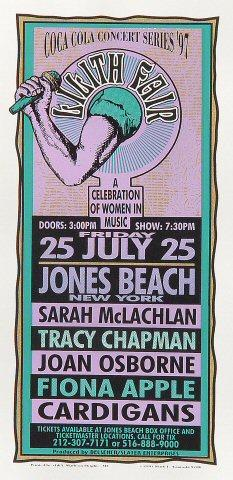 Sarah McLachlan Handbill