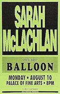 Sarah McLachlan Poster
