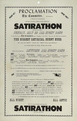 Satirathon Poster