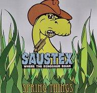 Saustex Where The Dinosaur Roam CD