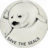 Save The Seals Pin