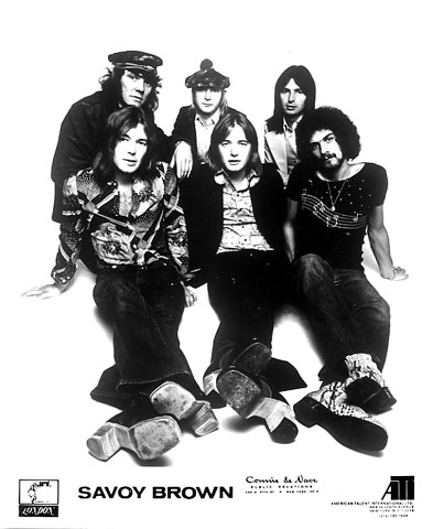Savoy Brown Promo Print
