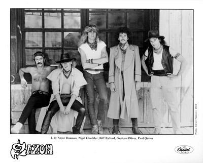 Saxon Promo Print