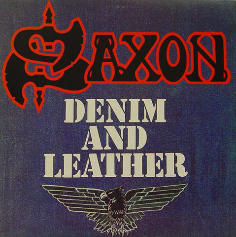 Saxon Vinyl (Used)