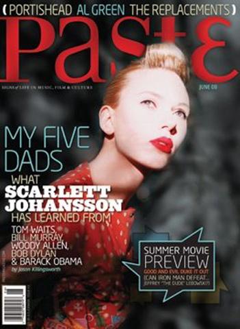 Scarlett JohanssonPaste Magazine