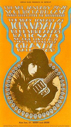 John Mayall & the Bluesbreakers Postcard