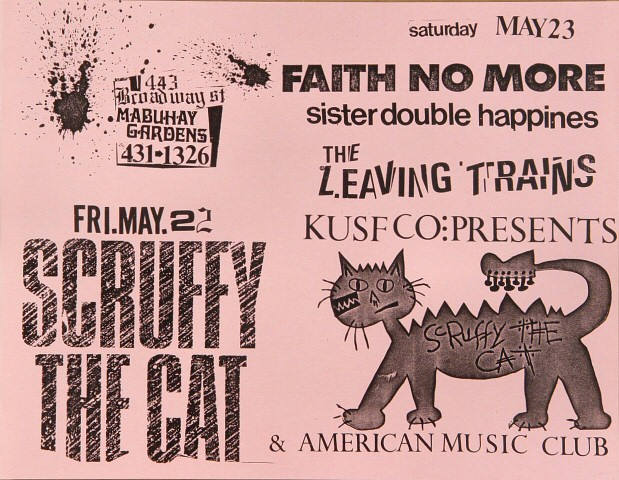Scruffy the Cat Handbill