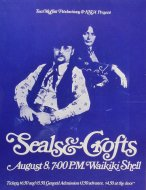 Seals & Crofts Poster