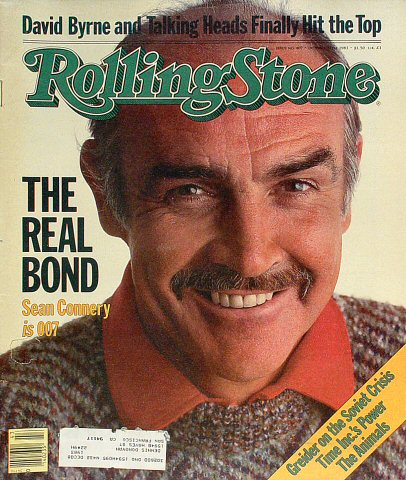 Sean ConneryRolling Stone Magazine