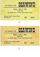 Seawind 1980s Ticket