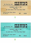Seawind Vintage Ticket