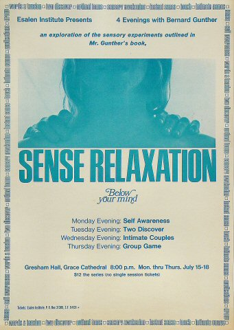 Sense Relaxation Poster