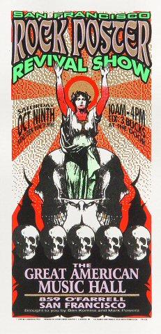 SF Rock Poster Revival ShowHandbill
