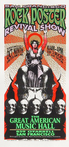 SF Rock Poster Revival ShowHandbill