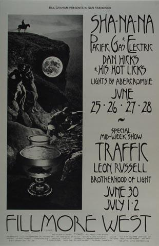 Dan Hicks & His Hot Licks Handbill