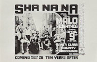 Sha Na Na Handbill