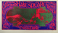 Shakespeare Festival Poster
