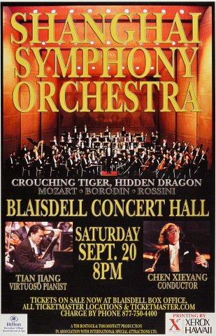 Shanghai Symphony Orchestra Poster