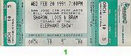 Sharon, Lois and Bram 1990s Ticket