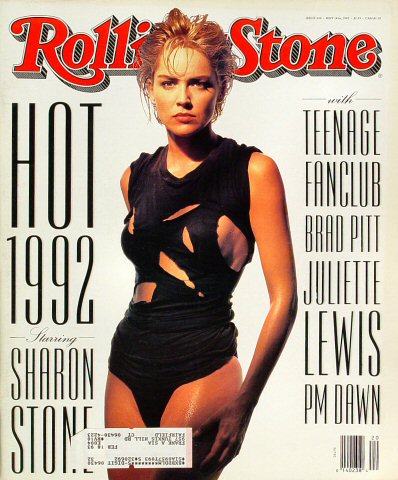 Sharon StoneRolling Stone Magazine