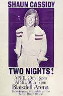 Shaun Cassidy Poster
