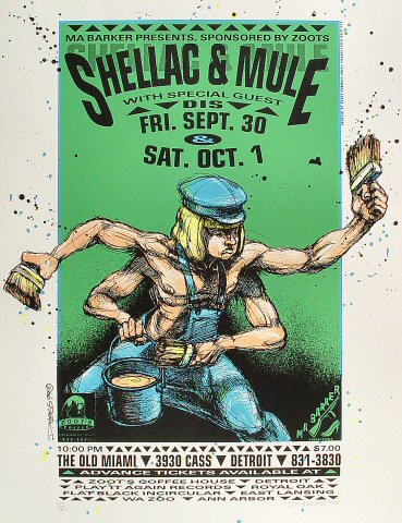 Shellac Poster