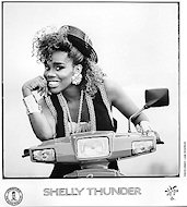 Shelly Thunder Promo Print