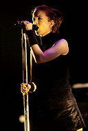 Shirley Manson BG Archives Print