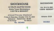 Shockhouse Post 2000 Ticket
