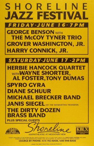 Shoreline Jazz Festival Poster