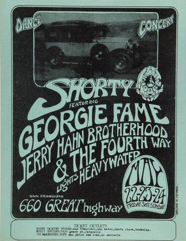 Shorty Handbill