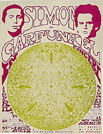 Simon &amp; Garfunkel Handbill