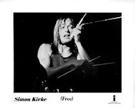 Simon Kirke Promo Print