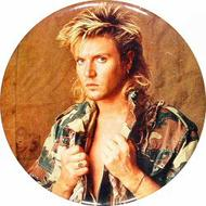 Simon LeBon Vintage Pin