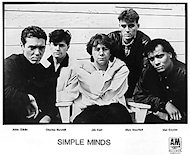 Simple Minds Promo Print