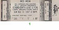 Larry Graham 1990s Ticket