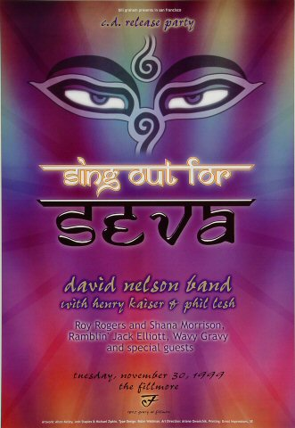 Sing Out for Seva Poster