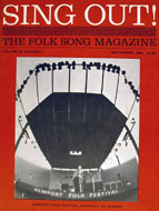 Sing Out, The Folk Song Magazine Book