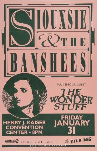 Siouxsie & the BansheesPoster