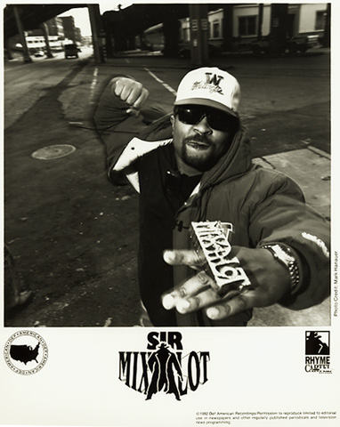 Sir Mix-A-Lot Promo Print
