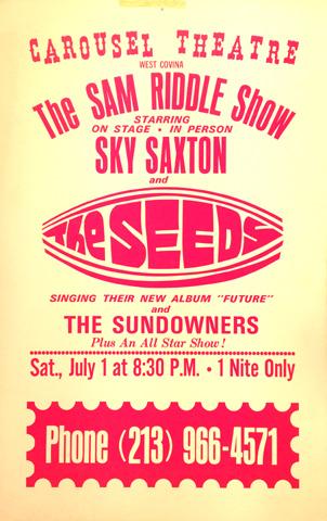 Sky Saxon Poster