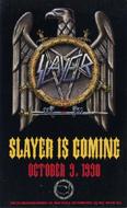 Slayer Handbill