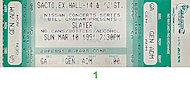 Slayer Vintage Ticket