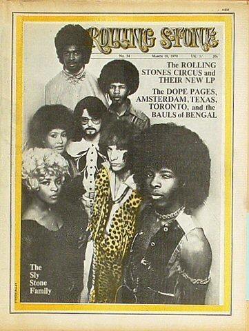Sly StoneRolling Stone Magazine