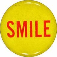 Smile Vintage Pin