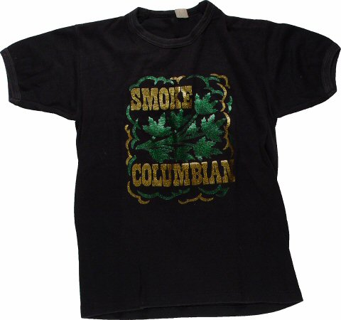 Smoke Columbian Men's Vintage T-Shirt