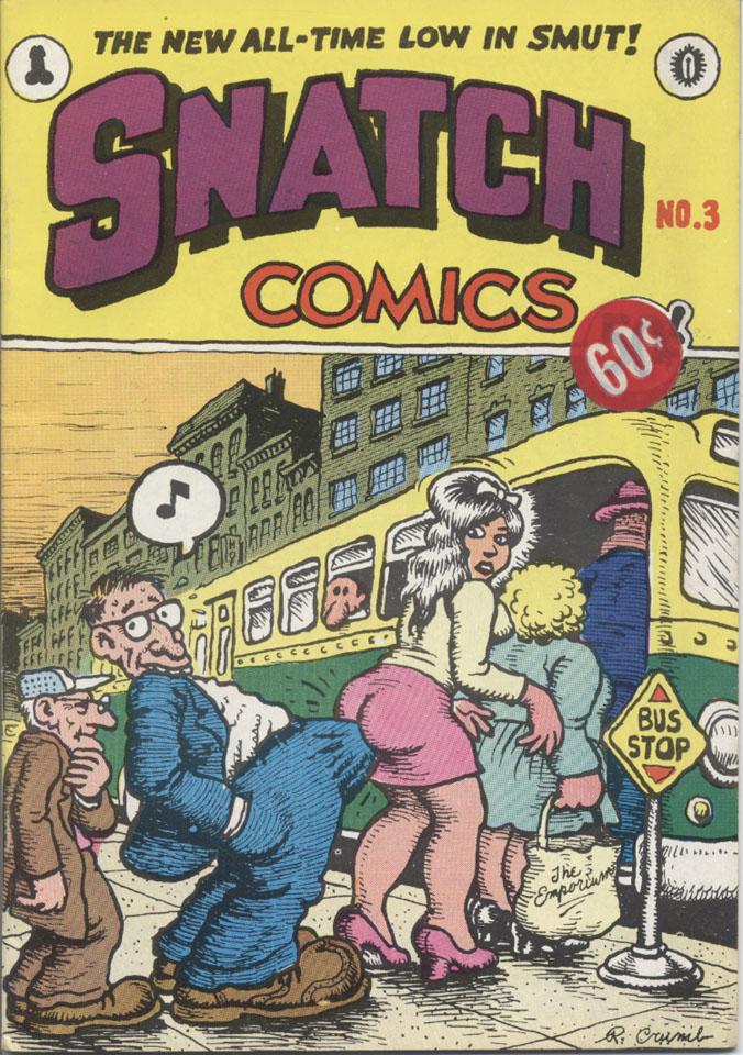 Snatch Comics No. 3 Program